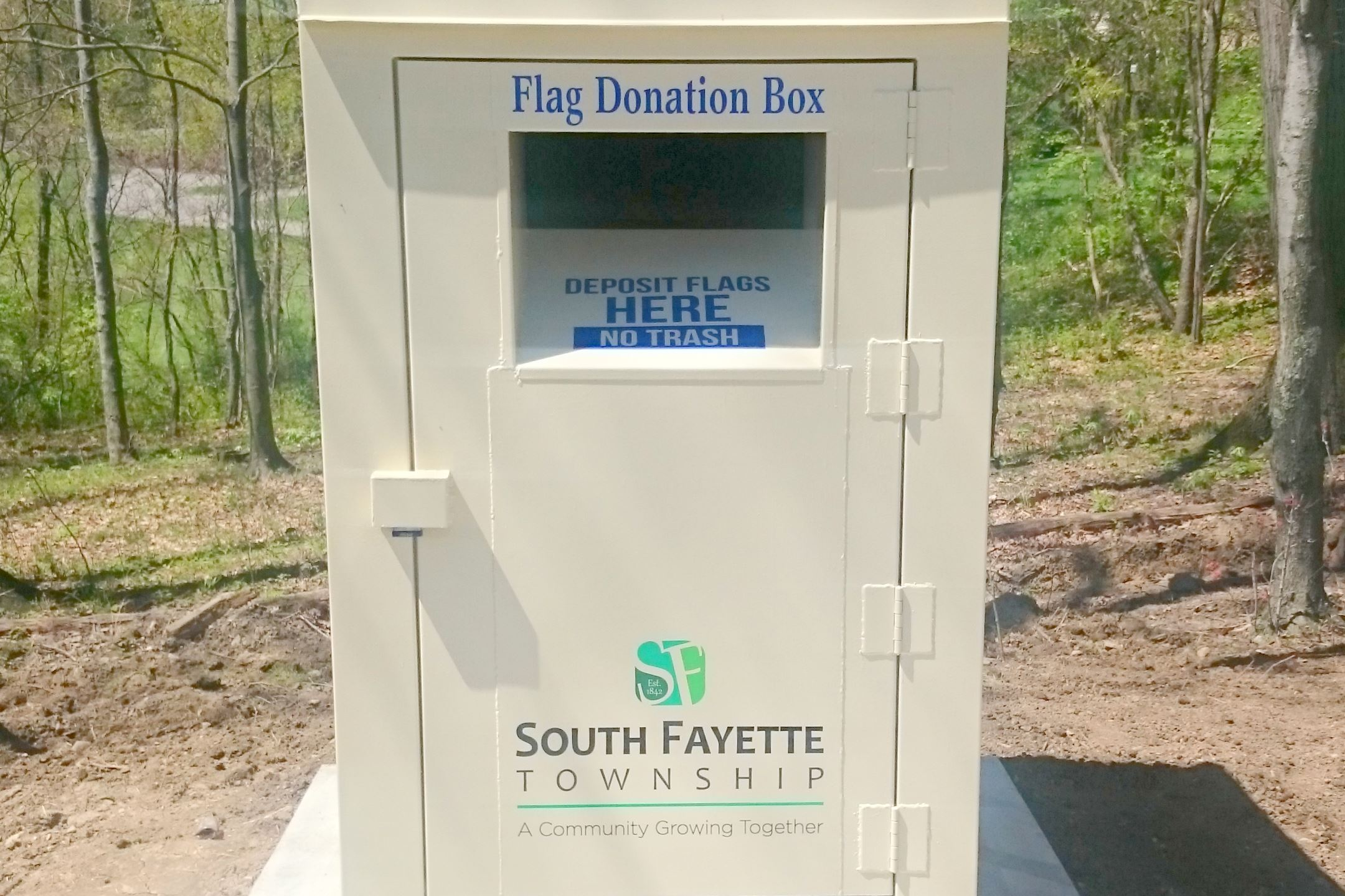 Flag Donation Box