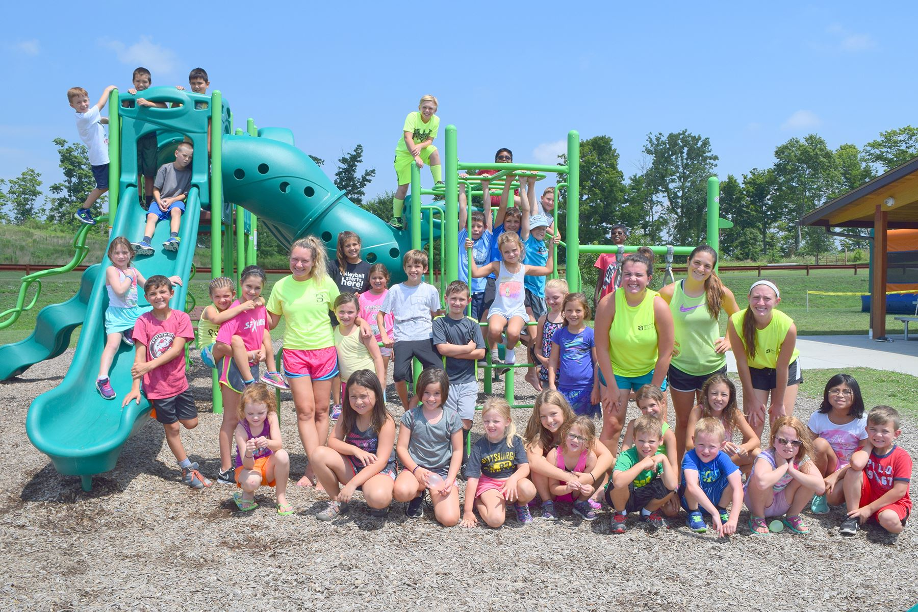 Group at Summer Playground Camp 2016