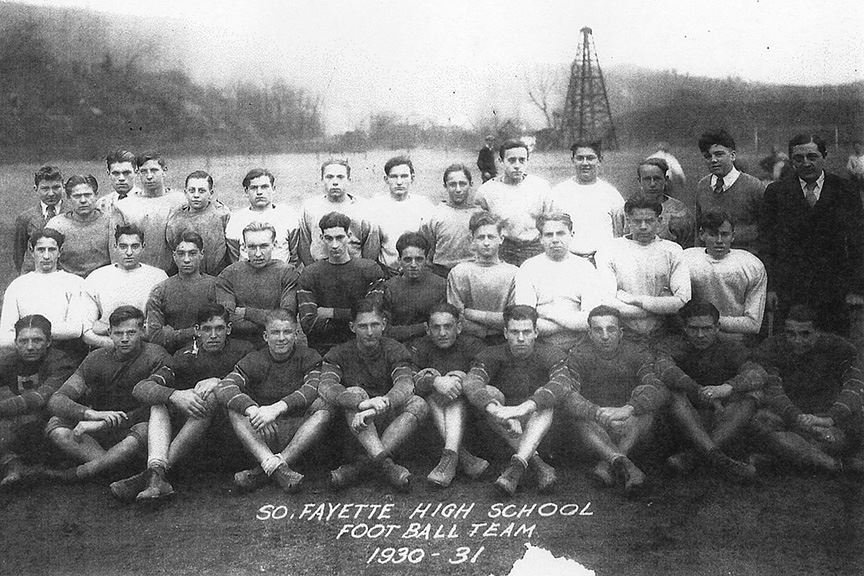 South Fayette Football Team 1930 to 1931