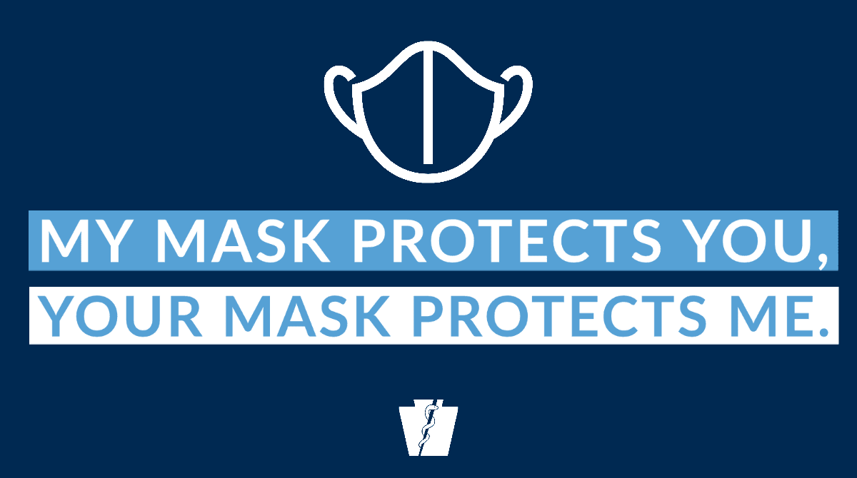 Masks protect each other