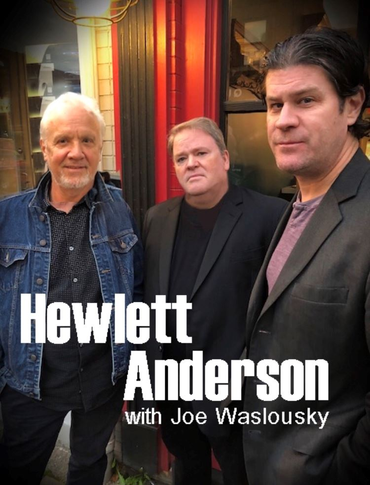 Hewlett Anderson with Joe Waslousky Promo Photo