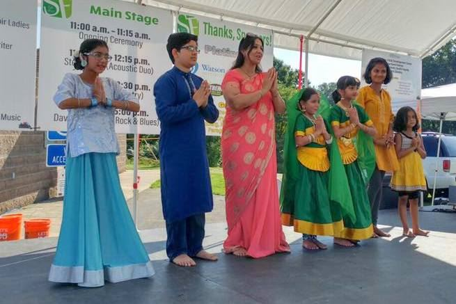 Sanskruti Dancers at South Fayette Community Day