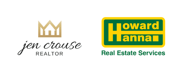 Jen Crouse Realtor and Howard Hanna Logos